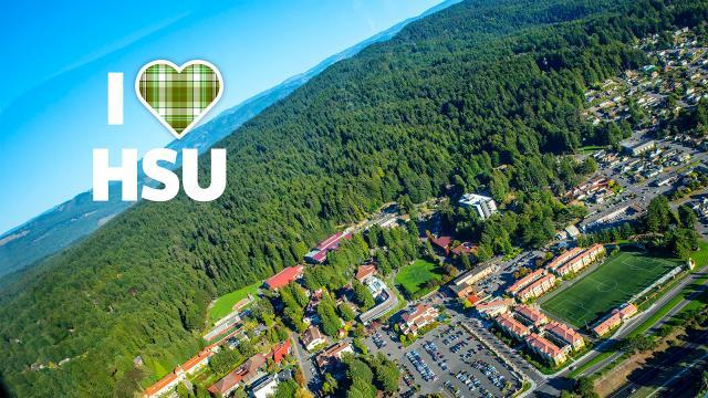 I love HSU ariel
