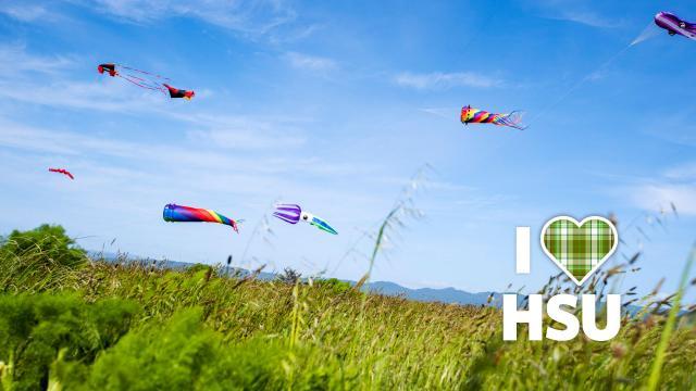 I love HSU Kite