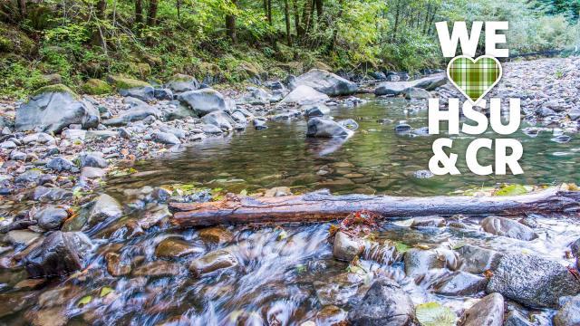 We HSU & CR river