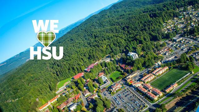 We love HSU aerial