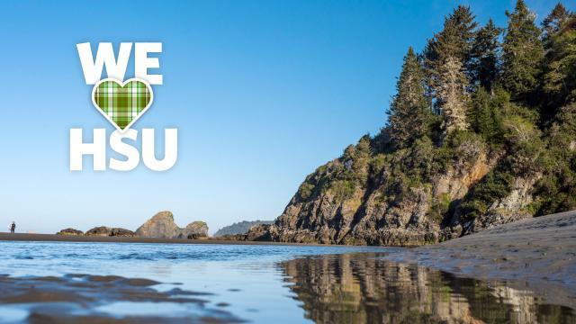 We love HSU beach