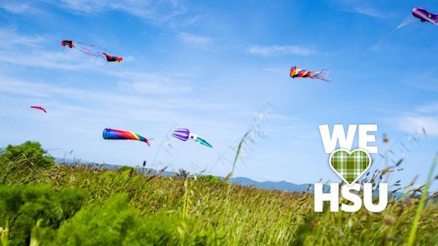 We love HSU Kite
