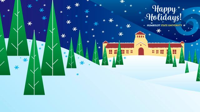 Happy Holidays - Founders graphic